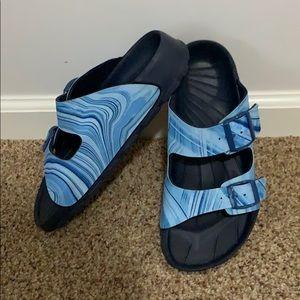 Birkenstock Plastic rubber sole blue Birki's 39